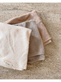 Konges Sløjd Terry washcloths 3-pack - shades of sand