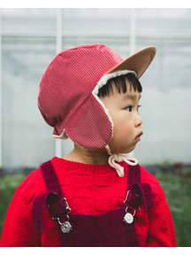 New Kids in the House Cap Robin - cranberry