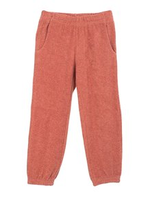 Serendipity Pants with pockets terry - brick