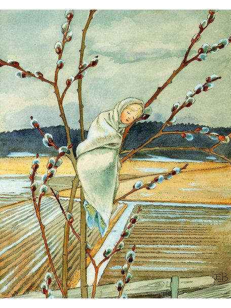 Elsa Beskow Elsa Beskow Postcard - Willow Baby