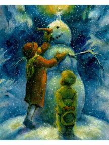 Elsa Beskow Elisabeth Nyman kaart - The Snowman
