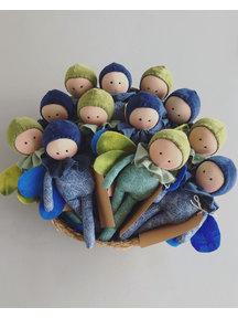 Studio Escargot Little gnome doll - angel (limited edition)