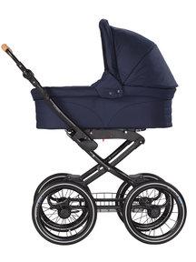 Naturkind Baby stroller Vita dark blue - seat unit including baby basket