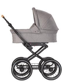 Naturkind Baby stroller Vita mottled grey - seat unit including baby basket