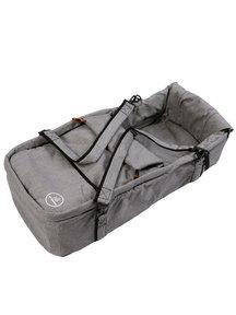 Naturkind Baby stroller Vita mottled grey - seat unit including carry cot