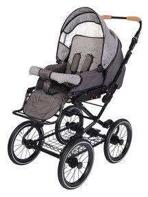 Naturkind Baby stroller Vita mottled/slate grey - seat unit