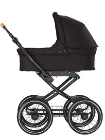Naturkind Baby stroller Vita black - seat unit including baby basket