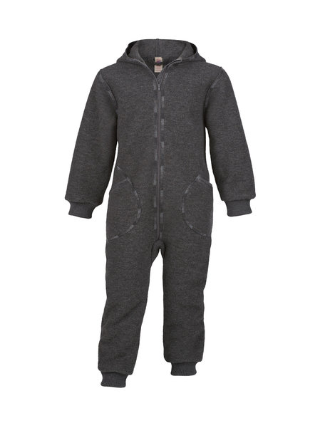 Engel Natur Boiled wool Overall - lava