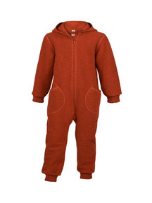 Engel Natur Boiled wool Overall - magma