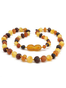 Amber Amber Baby Necklace 32 cm - Multi Raw
