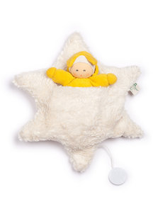 Nanchen Natur Star bed music box with doll