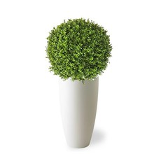 Kunstplant Buxus in Elho Pure Soft