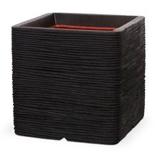 Capi Pot vierkant zwart