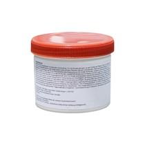 Anthurium in witte zelfwatergevende pot