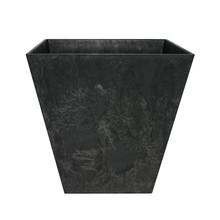 Artstone Ella pot 20x20cm zwart