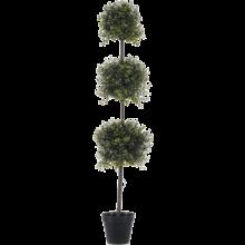 Boxwood triple ball kunstplant