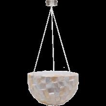 Oceana Pearl Hanging Bowl White