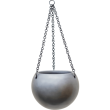 Hanging Globe Matt grey