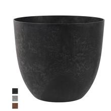 Artstone Bola pot zwart Ø 45 cm