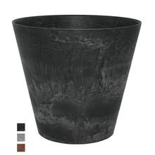 Artstone Claire pot Ø 22cm zwart