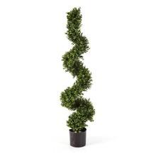 Buxus spiraal boom kunstplant