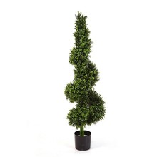 Buxus spiraal kunstplant