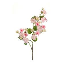 Hortensia tak roze kunstplant