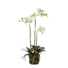 Orchidee wit kunstplant