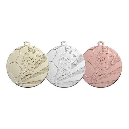 Voetbal medailles 70mm