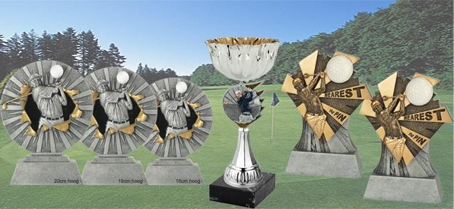 Golf trofeeën