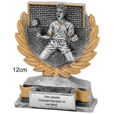 Resin voetbal trofee