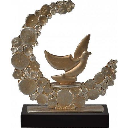 Duiven trofee metaal