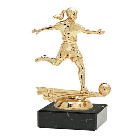 Dames voetbal figuur 14.5cm