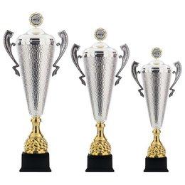 Beker groot zilver-cup 64 t/m 78cm