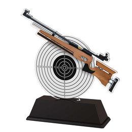 Luchtgeweer trofee acryl 14 t/m 16cm