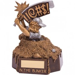 In the bunker trofee