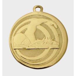 Medaille zwemmen relief ø45mm