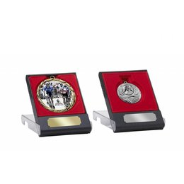 Medailledoosje rood voor 50/60/70mm medailles