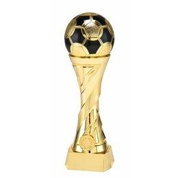 Voetbal bokaal heavy goud 16 t/m 27cm