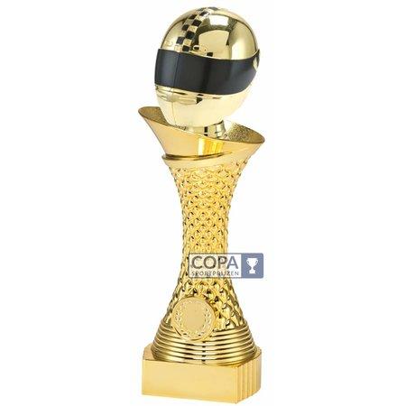 Racehelm trofee Goud