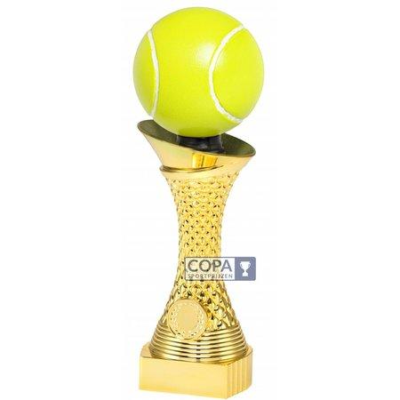Trofee Tennis Goud