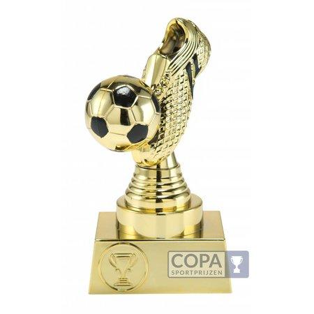3D voetbalschoen Goud