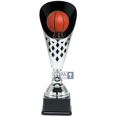 Basketbalbeker metaal