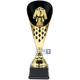 Judo/ karate beker goud 40 t/m 50.5cm