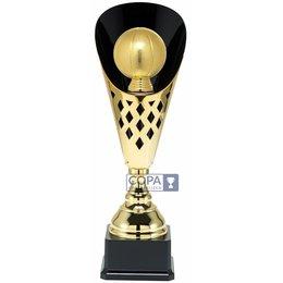 Basketbal beker Goud 40 t/m 50.5cm