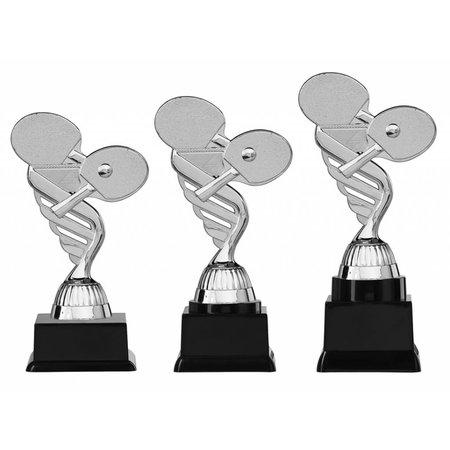 Tafeltennis trofee zilver