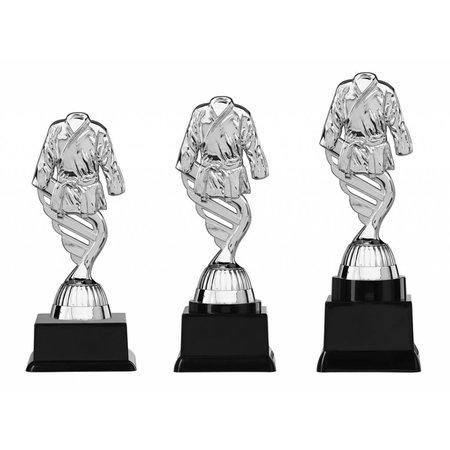 Judo/karate trofee zilver