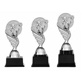 Dart trofee  zilver 15.5cm t/m 18.5cm
