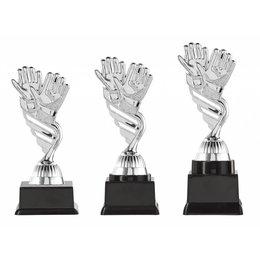 Keeper trofee zilver 15.5cm t/m 18.5cm