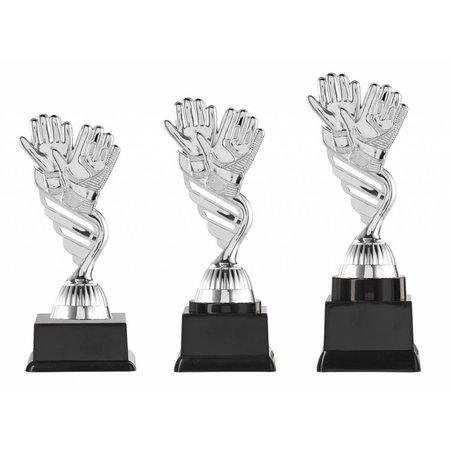 Keepertrofee zilver